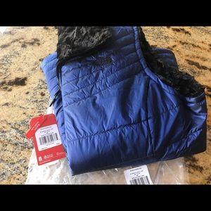 Women's the NORTH FACE reversible vest size xxl